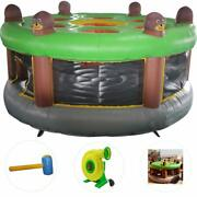 Giant Inflatable Human Whack-a-mole Interactive Game With Hammer For Kids Adults