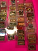 Vintage Tobacco, Cigar, Small Cigar, Cigarette Stamps Series 65 Foreign