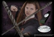 Ginny Weasleys Character Wand With Nameplate Authentic Noble Replica Nn8210