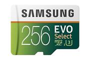 Samsung Evo 256gb High Speed Memory Card Micro-sdxc S2f For Phone / Tablets