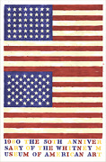 Jasper Johns The 50th Anniversary Of The Whitney Museum Of American Art Double