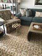 Stark Chinese Pile Aubusson 100 Wool Area Rug