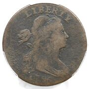 1796 Nc-1 R-6 Pcgs Vg 8 Rev Of And03997 Draped Bust Large Cent Coin 1c