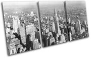 New York Nyc Photo Chrysler Building City Treble Canvas Wall Art Picture Print