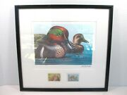 Rare 1979 Ken Michaelsen Green Wing Teal Companion Ed /100 Federal Duck Stamp 7