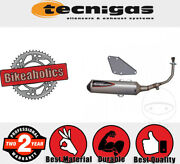 Technigas Complete Exhaust System - 4scoot For Suzuki Scooters