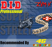 Did Gold X-ring Drive Chain 525 P - 118 L For Triumph Motorcycles