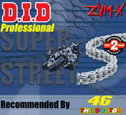 Did Silver X-ring Drive Chain 525 P - 116 L For Triumph Motorcycles
