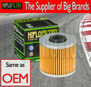 Oil Filter - Hf566 For Kawasaki Scooters
