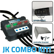 Trigger 4 Plus Wireless Accesory Control 4 Switch System Combo Kit Jeep Jk 07-18