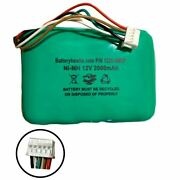 12v 2000mah Ni-mh Battery Pack Replacement For Logitech Squeezebox Radio