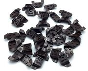 Lego Lot Of 40 New Dark Brown 2 X 2 Stud Parts Small Wings Car Seat Pieces