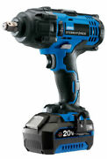 Draper Stormforce 20 Volt Impact Wrench 1 X 4ah Battery And Charger 400nm 43785