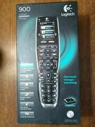 New Logitech Harmony 900 Remote Control W/ Charging Base, Accessories, Unopened