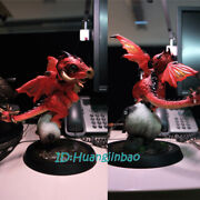 Wow Red Dragon Baby Resin Statue Bigfoot Workshop Model In Stock Collection