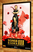 Tomb Raider Iii 3 Game Store Old Vintage Promo Poster Playstation1 Ps1 Rare 1998