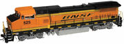 Atlas Master Series Gold Bnsf Ge Dash 8-40bw 526 - Dcc With Sound - Ho