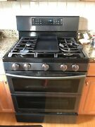 Andnbspsamsung 30 In. 5.8 Cu. Ft. Gas Oven Range Ny58j9850ws Grill Included