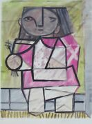 Pablo Picasso Enfant En Pied Child On Foot Hand Signed Marina Picasso 83/500