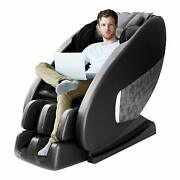 Massage Electric Full Body Chair Zero Gravity Shiatsu Foot Roller Wheat New W