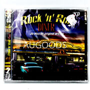 Rock 'n' Roll Diner- 36 Hits By Various Artists Brand New Sealed Music Album Cd