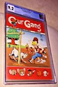 Our Gang Comics 14 Cgc 9.2 Off-white Pages