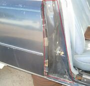 1976 1977 1978 1979 Cadillac Seville Right Rear Plastic Door Hinge Cover