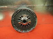 1 Used 68 69 Plymouth Barracuda Valiant 14 Wire Wheelcover