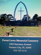 We Have 1 Cemetery Plot In Kent Forest Lawn Cemetery In Panama City Florida