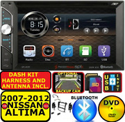 Fits/for 07-12 Altima Bluetooth Touchscreen Cd/dvd Usb Aux Sd Car Radio Stereo