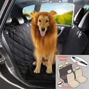 Universal Suv Car Pet Dog Back Rear Seat Bench Mat Cover Waterproof Convenient