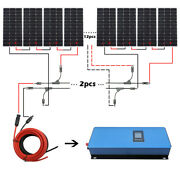 2kw Grid Tie Solar Panel System And 2kw 220v Pure Sine Inverter For Home Boat Car