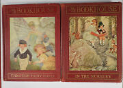 Rare Red Edition Of My Book House By Olive Beaupres Miller 7 Vols. Complete Set