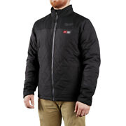 Milwaukee 203b-20l M12 Heated Axis Jacket Large/black Jacket Only New