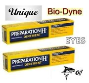 The Real Natural Preparation H -canadian Type [yeast Cell -shark Oil ] 2x25ml