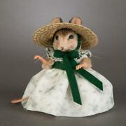 R. John Wright Scarlett Gone With The Wind Mice Collectible Doll Usa Handmade