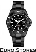 Gigandet Sea Ground Automatic Men's Watch Diver Stainless Steel Black