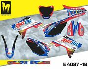 Honda Crf 250r 2018 Up To 2019 Moto Stylemx Graphics Decals Kit Stickers
