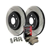 For Volvo Xc60 10-16 Stoptech 937.39513 Street Slotted 1-piece Rear Brake Kit