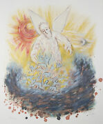 Ezekiel From The Prophet's Suite By Reuven Rubin Signed Lithograph 195/200