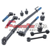 10pc Front Suspension Kit Tie Rod For 99-2005 Ford Excursion F-250 F-350 Sd 2wd