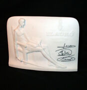 Lladro Collectors Society Don Quixoteign Signed Plaque Made In Spain On The Base