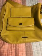 Leather Coach Purse With Matching Wallet And Checkbook Cover