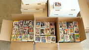Huge 21000 Lot Of Baseball Cards /huge Baseball Card Collection 1980and039s - 2000and039s
