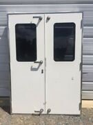 Marine Boat Yacht Exterior French Door Assembly - Possible Freeman 1620