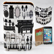 For Apple Iphone Series - Antique Furniture Theme Print Mobile Phone Case Cover