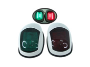 Pactrade Marine Boat Navigation Led Light Green Starboard Red Port White Pc Ip66