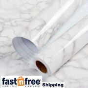 White Marble Contact Paper Granite Wallpaper Self Adhesive All Size Vinyl