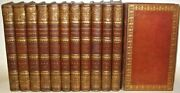 Leather Setworks Of Samuel Johnsoncompleteintricate Full Leather1810 Rare