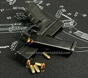 13 Scale G17 Shell Eject With Extra Cnc 10 Dummy 2 Tone Color Bullets